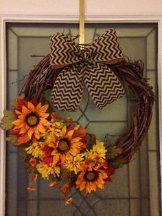 """For the mantel. Different color scheme to coordinate. Possibly a """"S"""" monogram."""