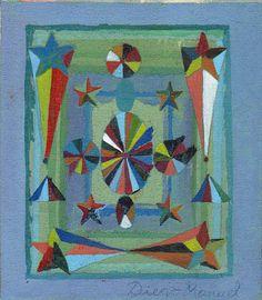 Astrapop 8, acrílico sobre tela, 16 x 14 cm. 2015 Painting by Diego Manuel