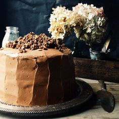 Hey, that's our Devil's Food Cake with Hazelnut Crunch! And it's ...