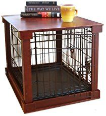 Ana White   Slightly altered large dog kennel end table - DIY Projects