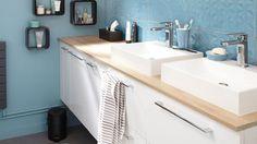 """Résultat de recherche d'images pour """"plan de travail suspendu salle de bain meuble cuisine"""""""