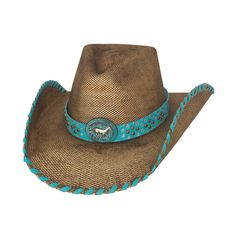 Bullhide Anything Goes - Womens Shapeable Straw Cowboy Hat Womens Western  Hats a32bc8ddc898