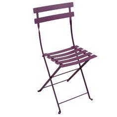 Fermob Bistro Metal chair, aubergine | Outdoor furniture | Outdoor | Finnish Design Shop