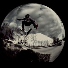 Fisheye lens gonna get a shot similar to this Skateboard Pictures, Sports Activities, Love Photography, Fisheye Lens, Irons, Skateboarding, Beach, Followers, Boards