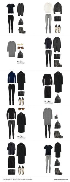 What to wear in Copenhagen, Denmark. Includes carry-on packing list. 20 items…