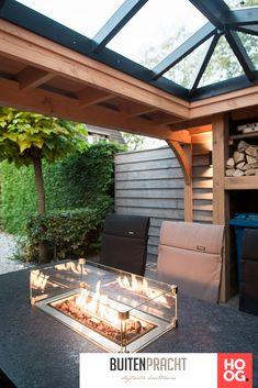 Buitenpracht Houtbouw - Veranda met inpandige berging en lichtstraat - Hoog ■ Exclusieve woon- en tuin inspiratie.
