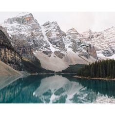 Moraine Lake, Canada ・ croyable's photo on Instagram