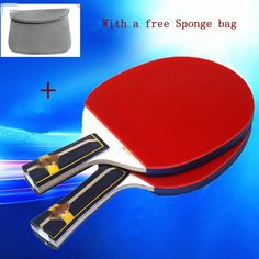 32.99$  Watch now - http://aiqdc.worlditems.win/all/product.php?id=32723981236 - High end best quality table tennis professional wooden handle grip to table tennis racket shake hand pingpong racket paddle