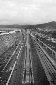 #tracks #train #vías #tren #segovia