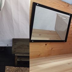 Pukutilojen parantelut jatkuvat - matto helpottaa sukkien pysymistä kuivina ja peileistä voi tarkastaa saunanraikkautensa - ainakin pikaisesti ;) #kesänsauna #oulunsauna (#sauna #yleinensauna #publicsauna #oulu)