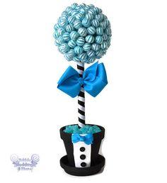 Lollipop Groom Topiary Candy Groom Topiary Candy por EdibleWeddings, $49.99