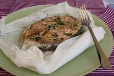 Salmone al cartoccio al microonde Microwave Recipes, Micro Onde, Seafood Recipes, Finger Foods, Crisp, Oven, Pork, Food And Drink, Turkey