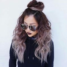 Imagem de hair, hairstyle, and tumblr Brunette Makeup, Gorgeous Makeup, Makeup Tips, Eye Makeup, Makeup Looks, Eyeshadow, Makeup Eyes, Eye Shadow, Make Up Looks