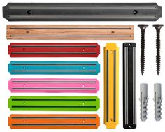 Wall Mounted Kitchen Magnetic Knife Holder Wooden Storage Rack Tool 55cm/33cm in Home, Furniture & DIY, Cookware, Dining & Bar, Food & Kitchen Storage   eBay