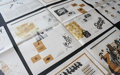 A newspaper full of different design challenges equalled the ideal format for Amber Asay to showcase her heterogeneous design talents. This fantastic concept for a self promotional piece allowed the young designer to exhibit a wide range of her considerable capabilities.