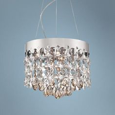 "Vienna Full Spectrum Elea 15 3/4"" Wide Crystal Pendant Light -"