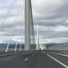View of viaduct from Millau town - Photo de Viaduc de Millau - Tripadvisor Cable Stayed Bridge, France, Trip Advisor, World, Bridges, Landscape, Suspension Bridge, The World, French