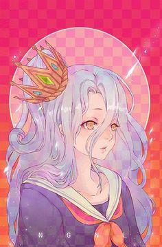 grafika shiro, anime, and anime girl