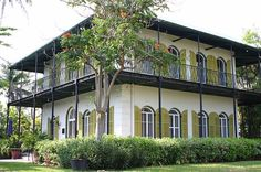 Hemmingway's home in Key West