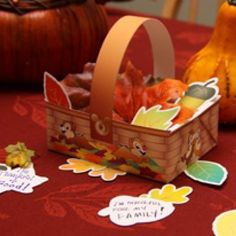 Thanksgiving-Basket-Craft-Idea