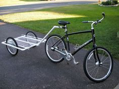 PVC Bike Trailer on instructables.com    Totally makeable