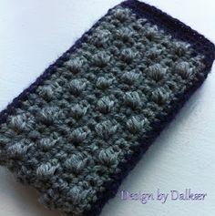 Crochet iPhone cover