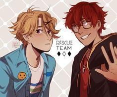 Rescue Team!! by cookiecreation