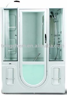 Bathtubs And Showers | -in Bathtub With Shower Cabin Photo, Detailed about Walk-in Bathtub ...