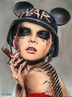 New contemporary art © Brian M. Viveros. More: www.ohsosurreal.com