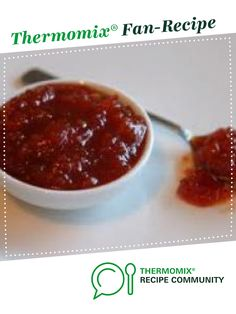 Recipe Delicious Sweet Chilli Sauce by CathyM, learn to make this recipe easily in your kitchen machine and discover other Thermomix recipes in Sauces, dips & spreads. Dip Recipes, Sauce Recipes, Cooking Recipes, Indian Pickle Recipe, Sweet Chilli Sauce, Homemade Seasonings, Xmas, Christmas Tree, Chutneys
