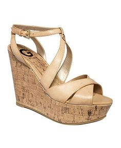 G by Guess Women's Shoes, Tenor Platform Wedge Sandals - All Women's Shoes - Shoes - Macy's