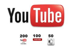 yo check it out, bramayadi: give 200 youtube views,100 SUBSCRIBERS and 50 Likes for $5, on fiverr.com