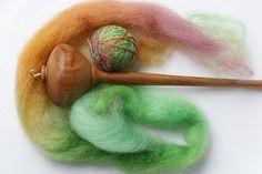Lace Drop Spindle by SourKraut