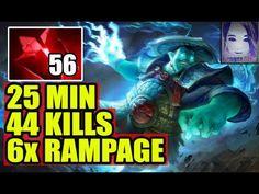 WTF is this - Ana 6 Rampage with 56 Bloodstone [Dota 2] Patch 7.06e