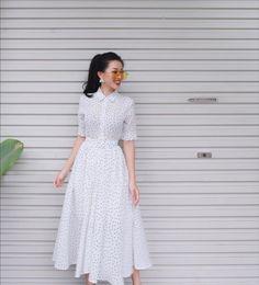ideas embroidery wedding dress summer 2015 for 2019 Lovely Dresses, Elegant Dresses, Casual Dresses, Summer Dresses, Long Skirt Fashion, Modest Fashion, Fashion Dresses, Modest Outfits, Classy Outfits
