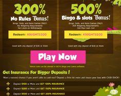 Bingo Knights No Rules Bonuses Play Bingo Online, Play Online, Bingo Bonus, Casino Bonus, Knights, Coding, Australia, Knight, Programming
