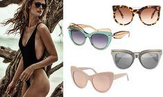 How do we choose the right sunglasses for our face?  Alexander McQueen //  Pomellato // Bottega Veneta //  Stella McCartney // Kate Bock fashion editorial, Telva magazine, july 2016