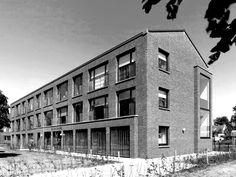 Wingender Hovenier Architecten Der Koerhoenders sheltered housing, Hengelo, The Netherlands, 2011