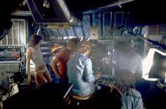 Sigourney Weaver behind the scenes on #Alien (1979) #WeylandYutani