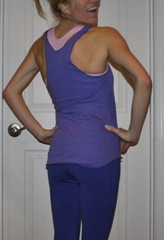 Cute fitness clothes. Workout wear