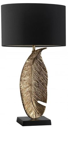 """gold"" gold table lamp, table lamps, modern table lamps, contemporary table…"