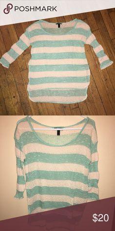 de10d599231a Vintage Short Sleeved Striped Sweater in 2019