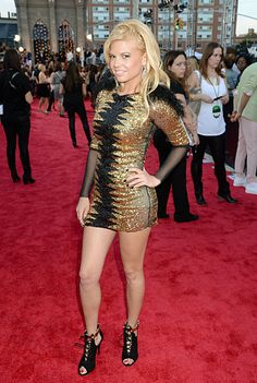 Chanel West Coast of MTV's 'Ridiculousness' attends the 2013 MTV Video Music Awards in Brooklyn, New York. Channel West Coast, Mtv Video Music Award, Music Awards, Celebs, Celebrities, Mesh Dress, Red Carpet Fashion, Lady Gaga, Gorgeous Women