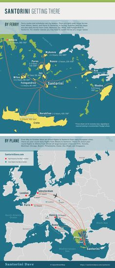 Santorini Maps - Updated for 2020 Santorini Map, Santorini Beaches, Mykonos, Heraklion, Greece Holiday, Best Flights, By Plane, Greece Travel, Greece Trip