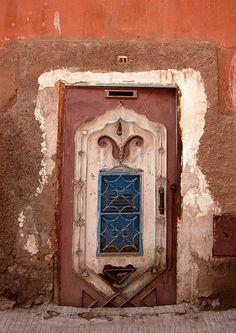 Doors in Marrakech Morocco   by valleygirl_tka
