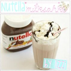 Nutella milkshake on Pinterest | Nutella Milkshake, Strawberries and ...