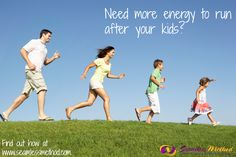 Young family, parents with children, running through field stock photo © Monkey Business Images (monkey_business) (
