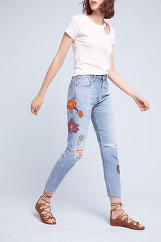 Slide View: 3: Citizens of Humanity Liya Ultra High-Rise Crop Jeans