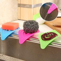 Forma de la hoja estante para platos de plástico de una sola capa de agua titular no plegable tipo de tabla tazón lavadora baño estante utensilios de cocina zf-80