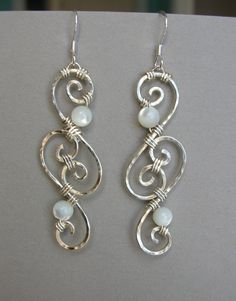 Wire Filigree Earrings...Aren't these pretty???  @Amber Buckingham